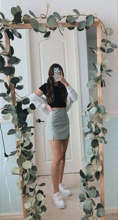 Glamouröse Outfits, Teen Fashion Outfits, Retro Outfits, Girly Outfits, Outfits For Teens, Trendy Summer Outfits, Cute Comfy Outfits, Stylish Outfits, Simple Outfits