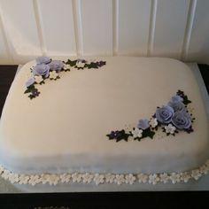Konfirmasjonskake , cake, cakedecorating Fondant, Cake Decorating, Marzipan, Deserts, Cupcakes, Instagram, Food, Tips, Cupcake Cakes