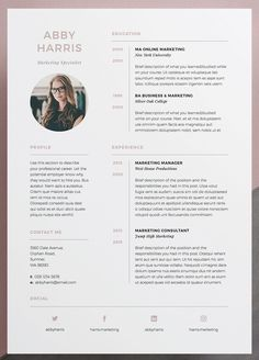 Professional Resume/CV and cover letter template. A professional two page design. - Professional Resume/CV and cover letter template. A professional two page design with striking cover - Cv Website, Website Layout, Website Design, Portfolio Resume, Portfolio Design, Template Portfolio, Portfolio Layout, Resume Design Template, Resume Templates