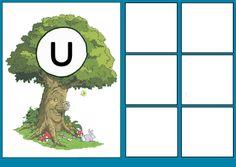 * Sprookjesboom: Letterkaart U