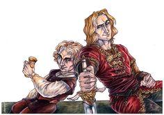 Lannister brothers by ProKriK on DeviantArt