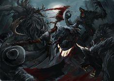 Bloodborne - Blood Party! by LiewJJ.deviantart.com on @DeviantArt
