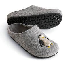 #Penquin Wool Clog