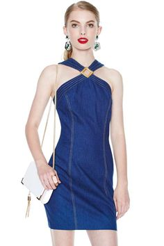 Selena Denim Dress