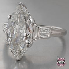 Certified Art Deco & Edwardian European-cut Diamond, Sapphire, Ruby, Emerald & Aquamarine Engagement Rings & Antique Victorian Old Mine-cut Diamond Rings. Dream Engagement Rings, Platinum Engagement Rings, Perfect Engagement Ring, Antique Engagement Rings, Marquise Ring, Marquise Cut, Art Deco, Ring Verlobung, Chanel