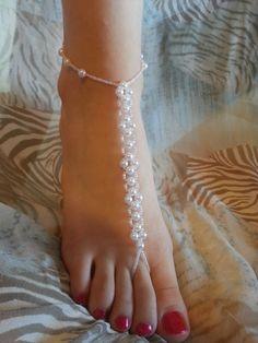 DIY Tutorial perline: Gioiello per i piedi - Bijoux for the feet Download