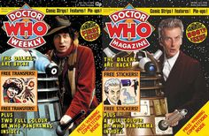 """Commenting on the magazine's success, Peter Capaldi says, """"The magazine was enormously helpful to me. When I started playing the Doctor I was able to get piles of them and dive in. I went out and bought lots of Doctor Who Magazines, because I deliberately wanted to steep myself in Doctor Who and connect – reconnect – to it in a very kind of visceral way, to the affection and the heartbeat of it.'"""