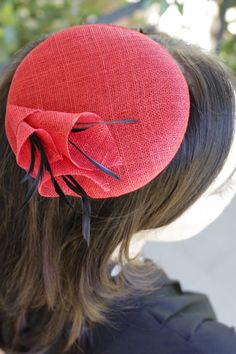 Helen Large by Many Hats Millinery, I love this pill box, would love it in white/ivory with blue out of the flowers.