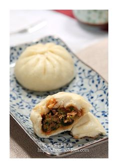 菜肉包子F1 【Steamed Buns】  Bao Zi