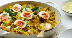 Kedgeree has long been our Christmas Day breakfast – the waft of spices and the cheery yellow of the eggs feel celebratory – but we eat it for dinner all year round. Back in India it was originally a vegetarian dish of lentils and rice; the smoked fish and eggs were only added to suit Read More