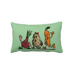 veggie fun pillow