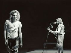 "DAVID LEE ROTH & MICHAEL ANTHONY At ""Rehearsals"" For The [FAIR WARNING/WE DON'T FXCK AROUND TOUR] c.1981! THE MIGHTY VAN HALEN Kicked Off This Tour At The [HALIFAX METRO CENTRE - HALIFAX NOVA SCOTIA, CANADA] May 12th 1981! #evh #eddievanhalen #alexvanhalen #davidleeroth #diamonddave #michaelanthony #vintage #classic #klassik #rock #music #history #1980s #1981 #fairwarning #touring #Rehearsals #RockHistory #vantastikhistory #vantastik #vanhalen #vanhalenhistory"