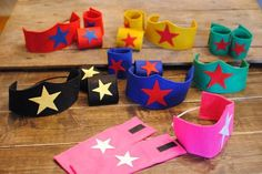 you know - a little super hero! This listing is for… 4th Birthday Parties, Girl Birthday, Birthday Ideas, Anniversaire Wonder Woman, Girl Superhero Party, Wonder Woman Party, Dc Super Hero Girls, Super Hero Games, Super Hero Costumes