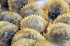 Castagne.(chestnuts) ~ the best recipe for sweet ravioli ~ T you must try this one.
