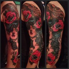 2 hit sleeve by Jack Goks.