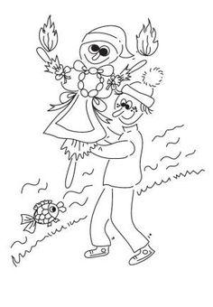 Vítání jara - (Malá encyklopedie MIM) School, Sketches, Brunettes, Carnival, Schools, Draw, Doodles, Sketch, Sketchbook Drawings