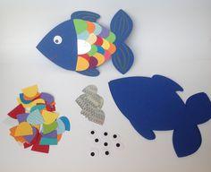 Bastelset Glitzerschuppenfisch von DekoWunderwelt auf DaWanda.com
