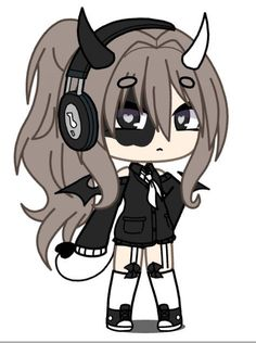 Anime Wolf Girl, Anime Girl Cute, Cute Kawaii Drawings, Anime Girl Drawings, Cute Disney Wallpaper, Cute Cartoon Wallpapers, Tomboy Drawing, Drawings Of Friends, Chibi Girl
