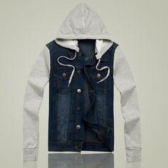 a73d203323 Autumn Denim Retro Jacket Jaqueta Jeans Masculina