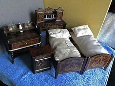 "Antique Dolls Boulle furniture c1890.""Kestner"" Biedermeier / Waltershausen | eBay"
