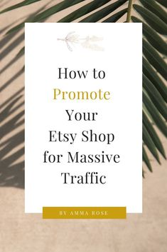 Are you going in circles with your Etsy SEO? Take it a step further and properly promote your Etsy s Affiliate Marketing, Marketing Plan, Media Marketing, Mobile Marketing, Inbound Marketing, Business Marketing, Content Marketing, Internet Marketing, Digital Marketing