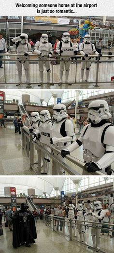 You Back From Your Coruscant Trip Yet? (tb24601 1 day ago PIctured are members of the Mountain Garrison of the 501st. DIA requested the stormtroopers and Darth Vader for a May the Fourth photoshoot in 2013. This is the result.)