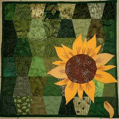 Sunflower quilt. . . inspiration for one day