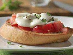 Receta Bruschetta de tomate y mozzarella, por Fanicitaluz@gmail.com - Petitchef