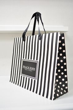 Peach John Shopping Bag