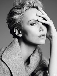 Charlize Theron (1975) - South African and American actress, producer, director, and fashion model. Photo by Karim Sadli for Dior • 2014