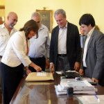 Apertura de sobres para la obra del Parque Deportivo Sur del CIIC