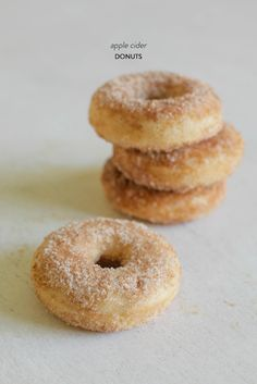 Apple Cider donuts: http://www.stylemepretty.com/living/2014/10/01/15-fall-recipes/