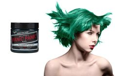 Manic Panic Semi- Permanent Hair Dye Green Envy, 4 Ounce -- This is an Amazon Affiliate link. Read more at the image link.