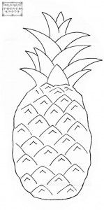 FREE Pineapple pattern via French Knots
