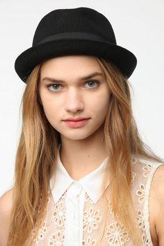 Knit Porkpie Hat  #UrbanOutfitters