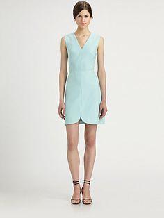 Tibi - Anson Stretch Dress - Saks.com $345