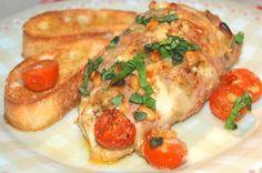 Italiaanse kipfilet uit de oven met bruschetta - Keuken♥Liefde