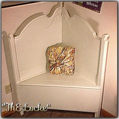 Buy & Sell Handmade Crafts, Jewelry, Quilts, Soaps & Greeting Cards, Custom Homemade Products Online - Made It Myself Real Wood Furniture, Furniture Fix, Antique Bench, Vintage Bench, Bench Decor, Foyer Bench, Headboard Benches, Headboard Ideas, Wedding Bench