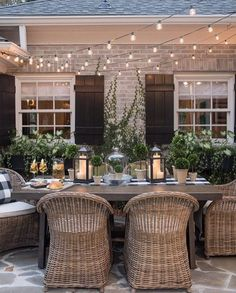 stunning outdoor patio space