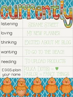 #NewBlogPost April C