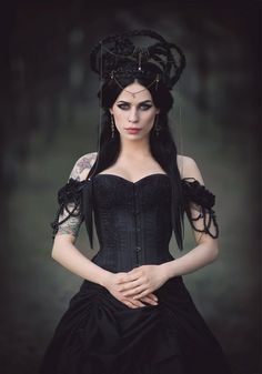 For many individuals that enjoy being dressed in gothic style fashion clothes and accessories, it is essential to aim to appear as exc. Dark Beauty, Goth Beauty, Dark Gothic, Victorian Gothic, Dark Fashion, Gothic Fashion, Trendy Fashion, Style Fashion, Fashion Women
