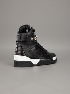 f6fc511cc57265 GIVENCHY - star studded hi-top sneaker 4  633.96 Verde Wine