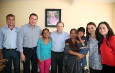 De gira por la junta auxiliar de San Andrés Azumiatla, los titulares de Sedesol, José Antonio Meade; Sedatu, Rosario Robles; y CDI, Nuvia Mayorga, reiteraron su apoyo al gobernador Rafael Moreno Valle para combatir la pobreza en Puebla