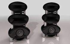 HR3-05 horn speakers by ALG Audio Design.
