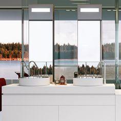 smalle spiegels voor raam