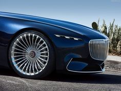 Mercedes-Benz Vision Maybach 6 Cabriolet Concept Pebble Beach 2017