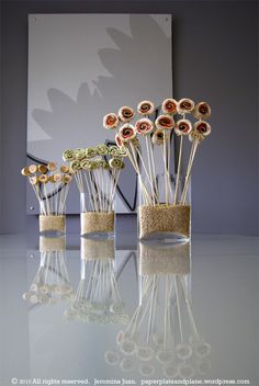 Appetizers on sticks:)