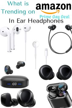 Get your favorite pair now.... Top Selling Products Online, What Is Amazon, Prime Day Deals, In Ear Headphones, Things To Sell, Over Ear Headphones