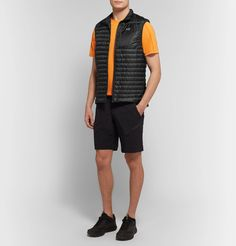 Teryx cerium sl slim-fit quilted arato down gilet Chic Outfits, Sport Outfits, Creative Kids Snacks, Healthy Filling Snacks, Black Nylons, Gym Men, Slim, How To Wear, Clothes