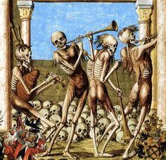 Dance Macabre by Niklaus Manuel ca.1516-1519